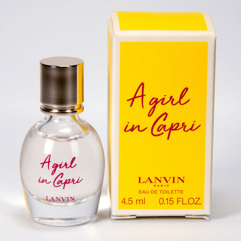 2019  -  A GIRL IN CAPRI : EAU DE TOILETTE 4,5 ML