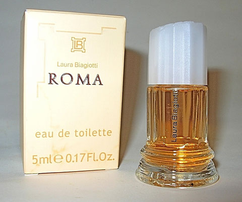 LAURA BIAGIOTTI - ROMA : EAU DE TOILETTE 5 ML - BOÎTE DIFFERENTE DE LA PRECEDENTE PHOTO