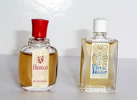 MYRURGIA - 2 MINIATURES : HIDALGO & FLOR DE BLASON