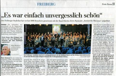 "15.07.2013, ""Freie Presse"""