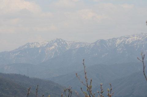 金草山と冠山