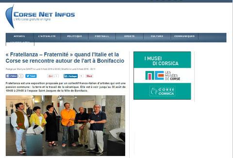 Corse Net Infos - Août 2016