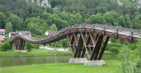 Essinger Brücke bei Kelheim (Entwurf: R.J. Dietrich)