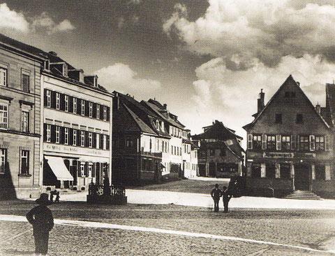 Albrecht Dürer Platz um 1890