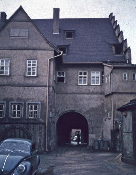 Ebracher Hof, Vorderhaus,  1959