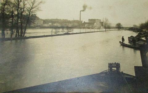 Hochwasser 6. Februar 1909