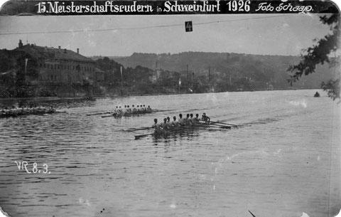 1926 - Deutsche Meisterschaft in Schweinfurt