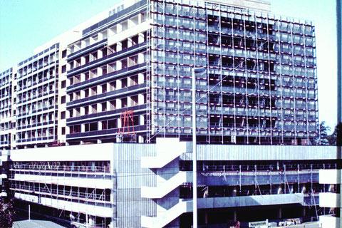 September 1977 - Leopoldina-Krankenhaus - Baustelle - Danke an Christel Feyh - Foto Helmut Feyh