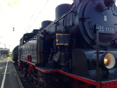 T 75 1118 am 11.08.2014 in Schweinfurt
