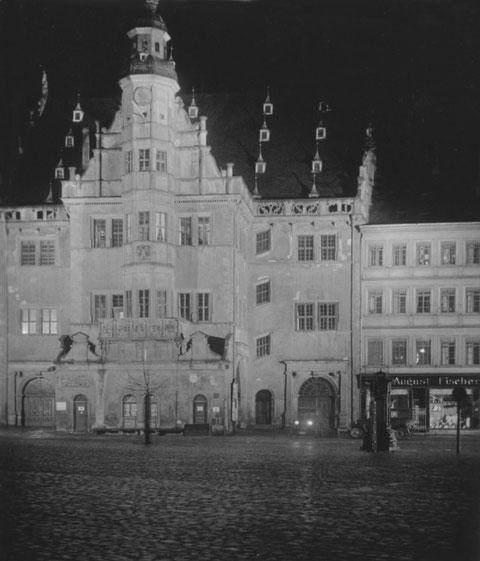 Das Rathaus Schweinfurt im Jahre 1931 - Danke an Holger Meyer
