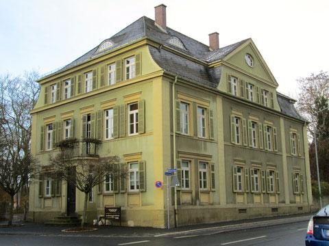 Das Haus Kornmarkt 17 vor seiner Renovierung im Jahr 2014 (7.12.13)