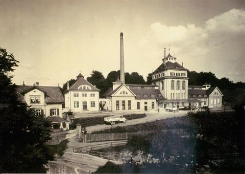 Gesamtbrauereiansicht um 1930