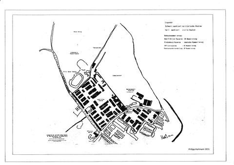 Kasernenplan 1930er