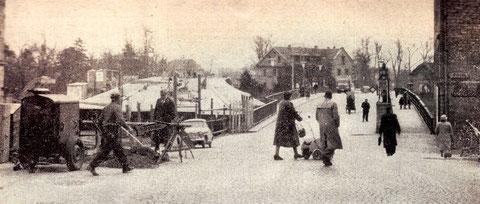 "Die ""neue"" Maxbrücke wird gebaut (linke Fahrbahn)"