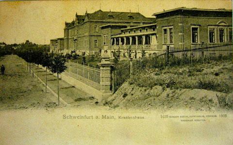 Städt. Krankenhaus Schweinfurt  1905