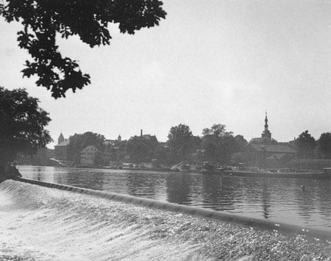 1937 - Elefantenbuckel mit Blick auf Schweinfurt