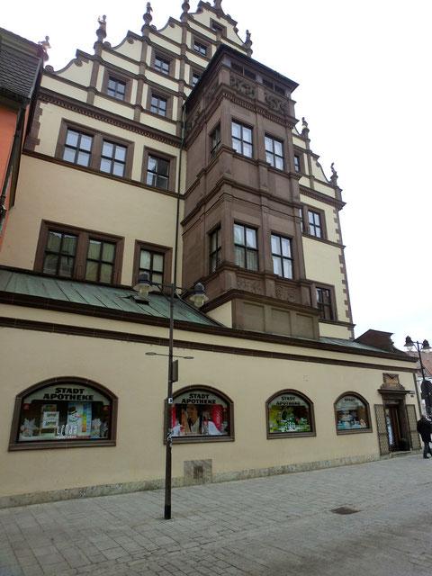 Rathaus mit Stadtapotheke