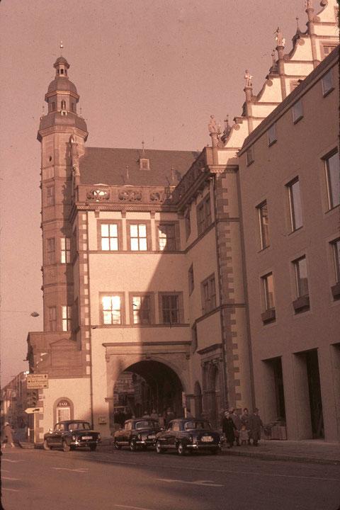 Foto ca. 1960 von Franz Schwalb