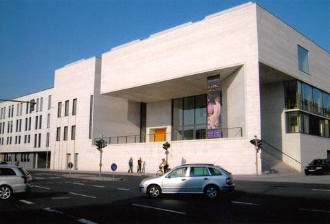 Ansicht Georg-Schäfer-Museum Schweinfurt - vom Paul Rummert-Ring gesehen