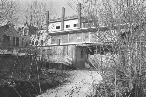 Brauerei Hagenmeyer vor dem Abriss