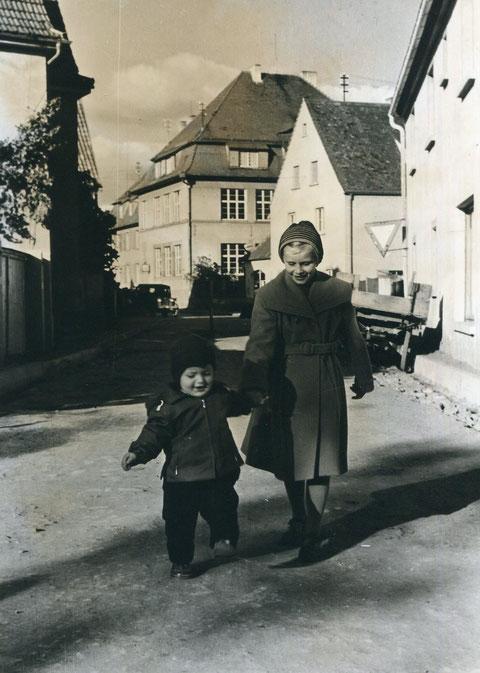 1955 - Schwebheimer Straße - Danke Peter Wiegand