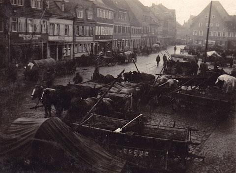 ca. 1920 - Kornmarkt Schweinfurt