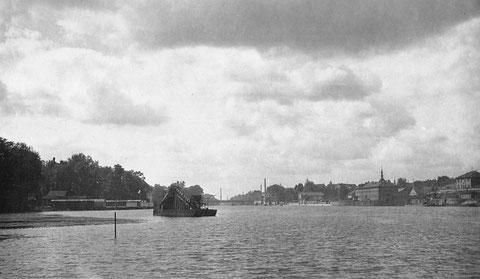 1931 - Blick auf Schweinfurt vom Main - Danke an Holger Meyer