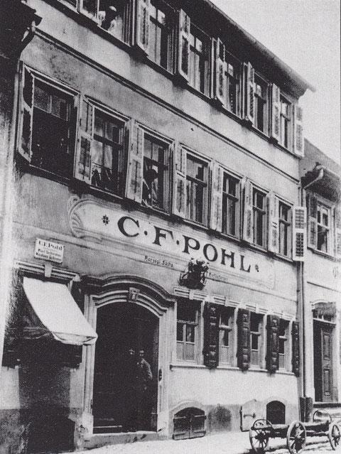 Zehntstraße 8 - Likörfabrik C.F. Pohl