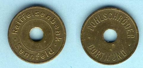 Nachttresormarke Raiffeisen Bank Sennfeld