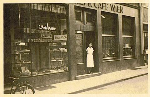 Cafe Wien, Lange Zehntstr. 1 im Jahre 1939