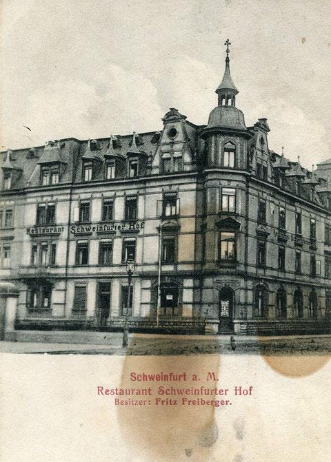 Luitpoldstraße 9 - 1914 - Danke an Peter Wiegand