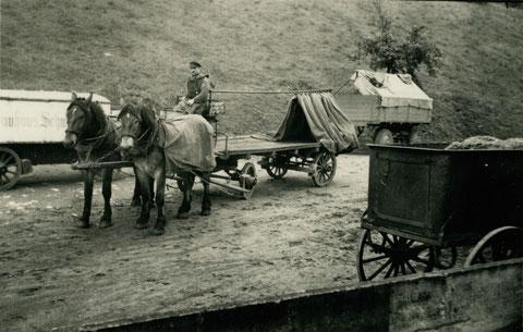 ca. 1938 - auf dem Brauhausgelände