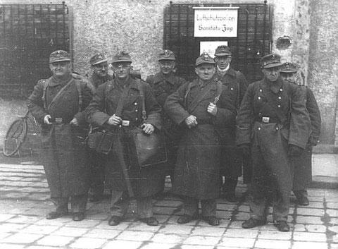 Der Luftschutz-Sanitätszug des Roten Kreuzes  1943