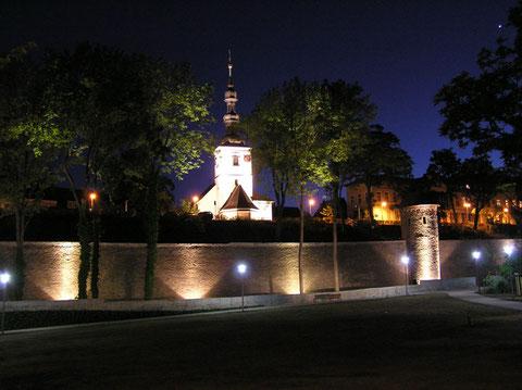 Nachts am Unteren Wall