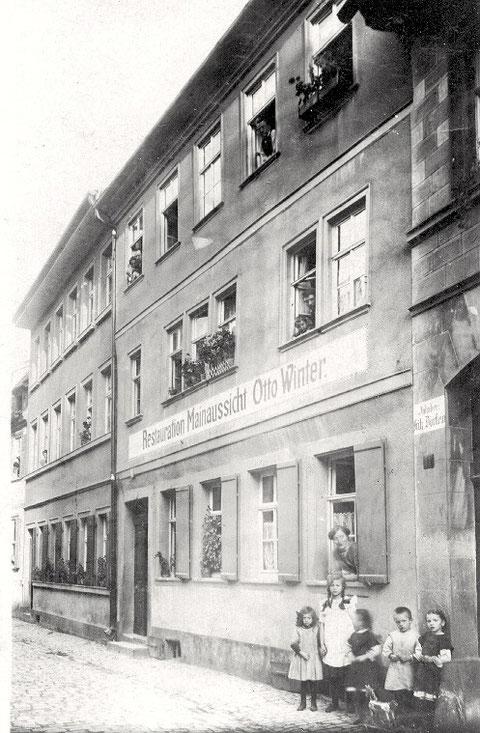 "Gaststätte ""Mainaussicht"", Petergasse 16 (Rückgebäude)"