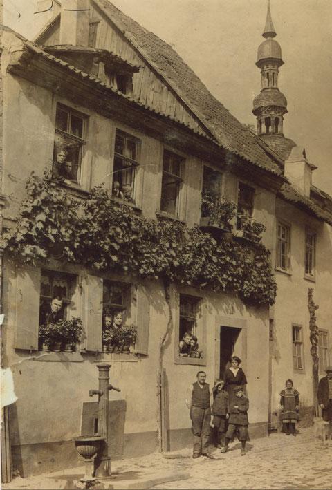 Zürch 9 im Jahre 1909 - Danke an Franz Weichsel