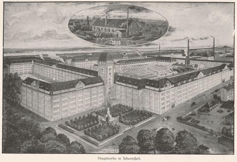 Aus einem Katalog des Jahres 1915