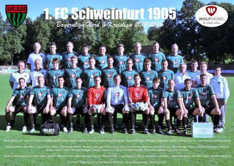 Mannschaftsfoto 2012/2013 - bitte vergrößern!