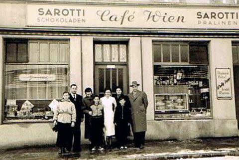 Café Wien  1954