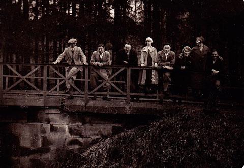 Zeller Brücke 1934