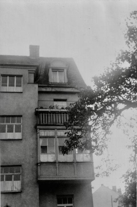 Friedhofstraße 18 Rückseite 1955