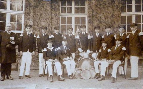 Fahnenweihe in den Wehranlagen 1929