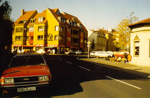 Neutorstraße Schweinfurt Fa. Sport Blum - neu erbautes Haus in den 1990ern