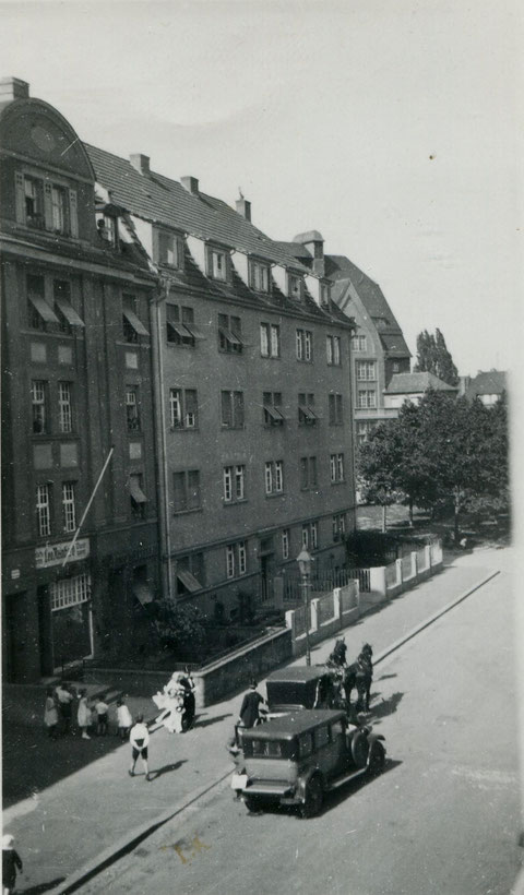 Ludwigstraße - links Metzgerei Reinhard - danke an Frau Fröschel