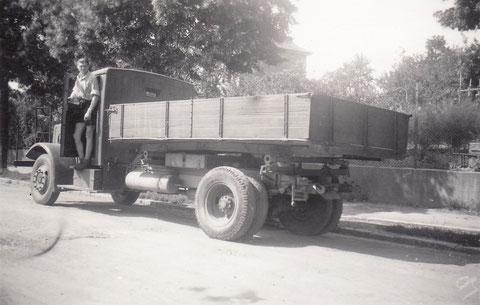 Der Firmen-LKW 1946