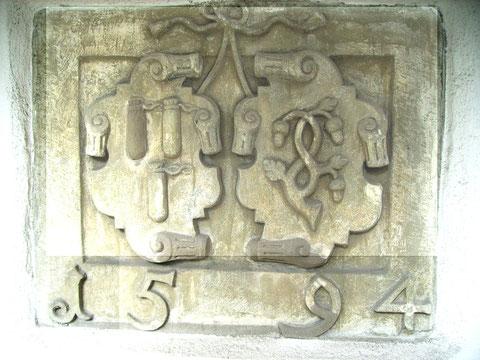 Wappen Rüffer/Kaltenköfer 1594