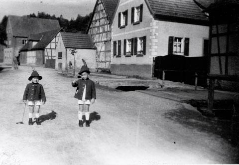 Weipoltshausen - Hauptstraße - 1946