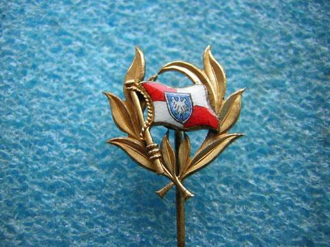 Ehrennadel gefertigt  von Juwelier Belschner