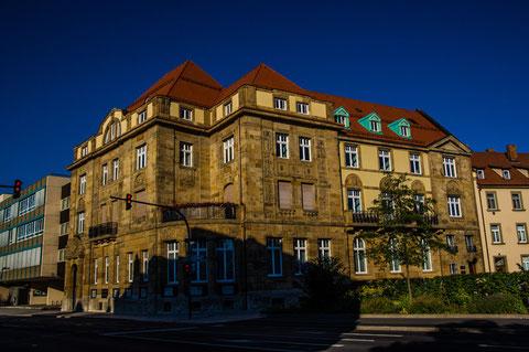 Altes Staatsbankgebäude in der Schultesstraße