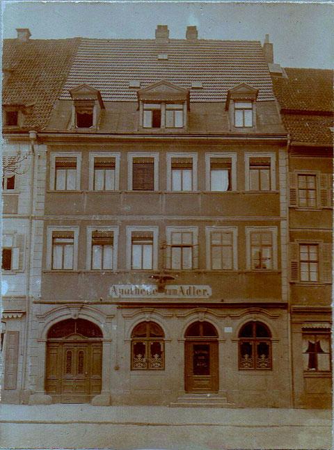 Adler-Apotheke 1890 - Markt 6